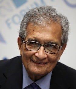 Amartya Sen (photo: CC ForumPA on Flickr), inequality