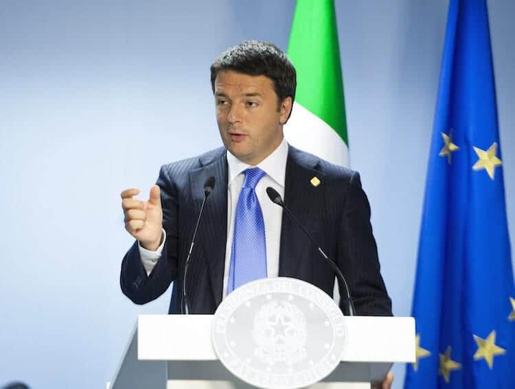 Italy's PM Matteo Renzi
