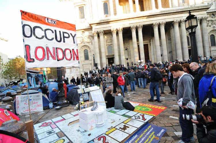 Movements such as Occupy have helped to bring inequality onto the political agenda but there is still a lack of concrete action.