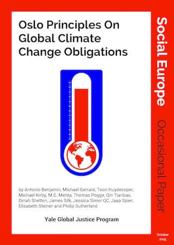 OP 9: Oslo Principles On Global Climate Change Obligations