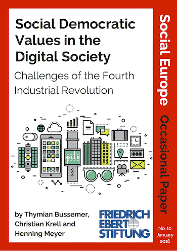 OP 10: Social Democratic Values In The Digital Society