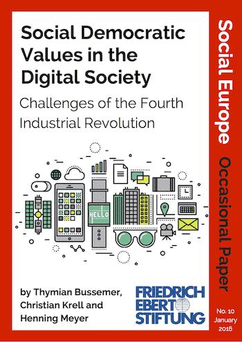 OP 10: Social Democratic Values In The Digital Society