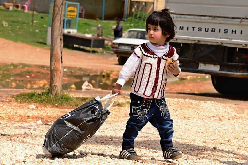 refugee child