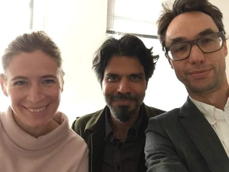 Karin Petterssion, Pankaj Mishra and Georg Diez